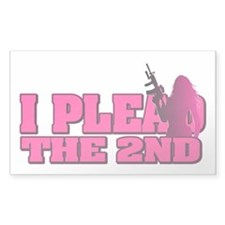 Plead the 2nd - Women Decal
