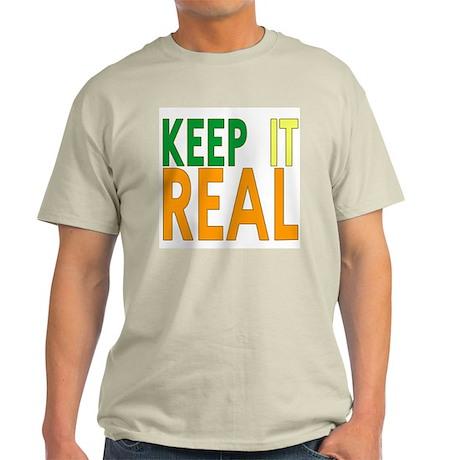 Keep it Real Ash Grey T-Shirt