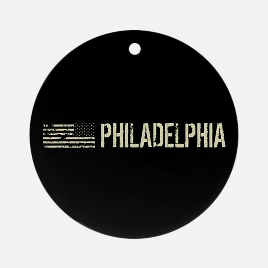Black Flag: Philadelphia Round Ornament