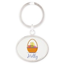 Easter Basket Holly Keychains