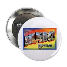 Billings Montana Greetings Button