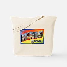 Billings Montana Greetings Tote Bag