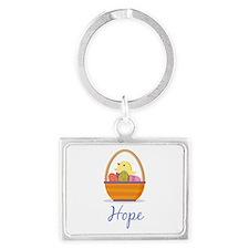 Easter Basket Hope Keychains