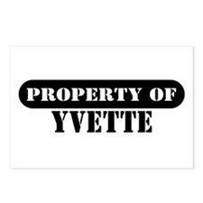 Property of Yvette Postcards (Package of 8)