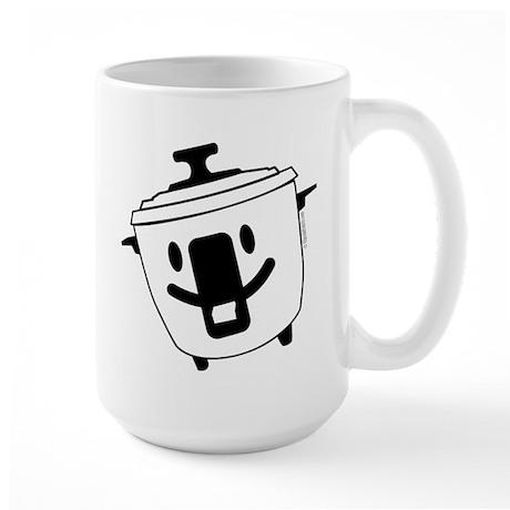 The Happy Rice Cooker Large Mug