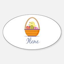 Easter Basket Ilene Decal