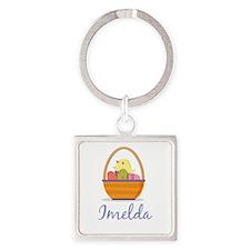 Easter Basket Imelda Keychains
