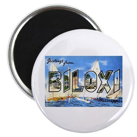 Biloxi Mississippi Greetings Magnet