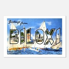 Biloxi Mississippi Greetings Postcards (Package of