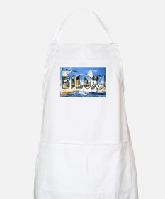 Biloxi Mississippi Greetings BBQ Apron