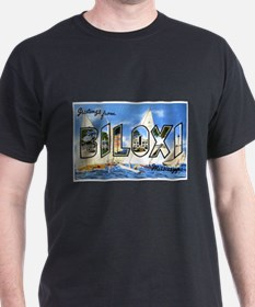 Biloxi Mississippi Greetings (Front) T-Shirt