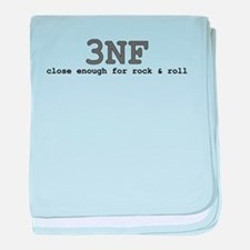 3NF: close enough for rock & roll baby blanket