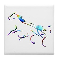 Harness Trotters Picture Tile Coaster