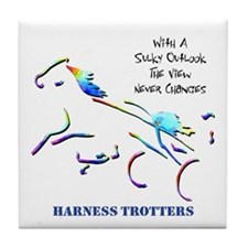 Harness Trotters Tile Coaster