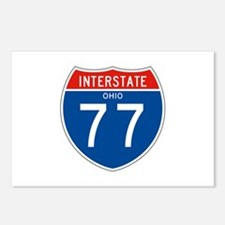 Interstate 77 - OH Postcards (Package of 8)