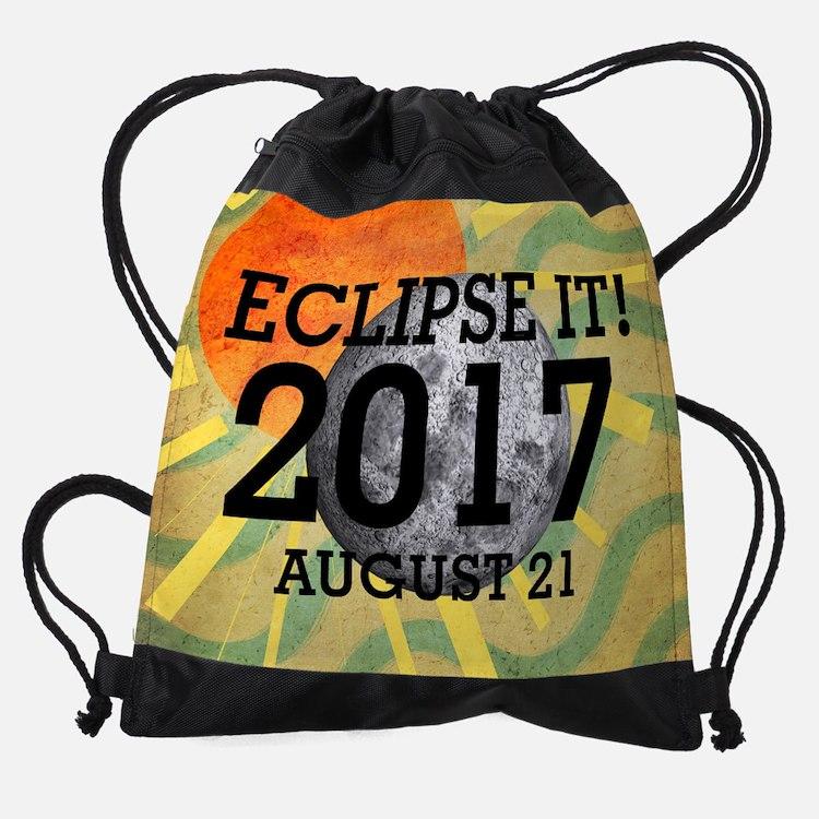 eclipse2017 Drawstring Bag