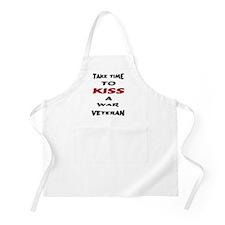 kiss a veteran BBQ Apron