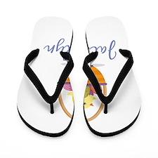 Easter Basket Jacquelyn Flip Flops