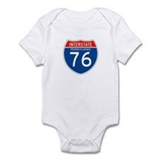 Interstate 76 - PA Infant Bodysuit