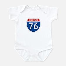 Interstate 76 - PA Infant Bodysuit