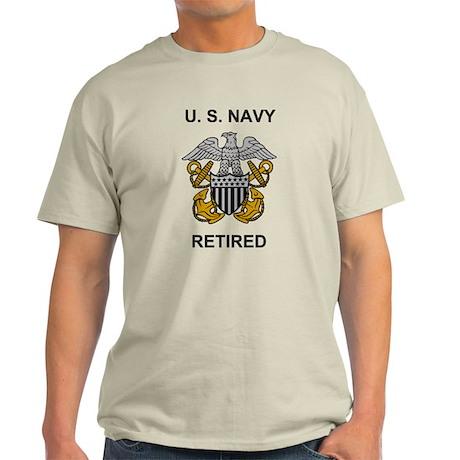 Retired Navy <BR>Officer Shirt 2