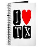 I Love TX Journal