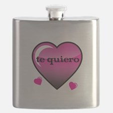 te quiero-I love you Flask