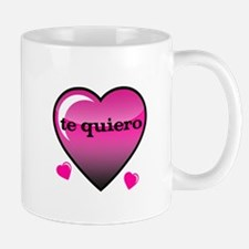 te quiero-I love you Mug