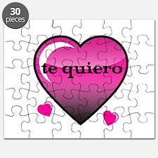te quiero-I love you Puzzle