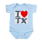 I Love TX Infant Bodysuit