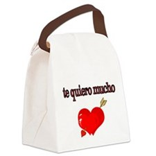 te quiero mucho-I love you very much Canvas Lunch