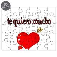 te quiero mucho-I love you very much Puzzle