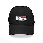 I Love TX Black Cap