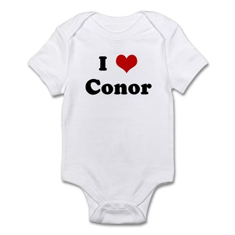 I Love Conor Infant Bodysuit