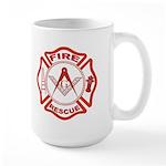 Masonic Fire & Rescue Large Mug