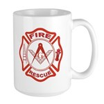 Masonic Fire & Rescue Large Mug