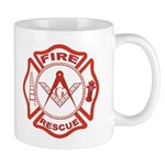 Masonic Fire & Rescue Mug