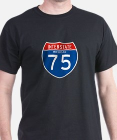 Interstate 75 - MI T-Shirt