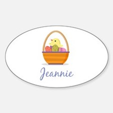 Easter Basket Jeannie Decal
