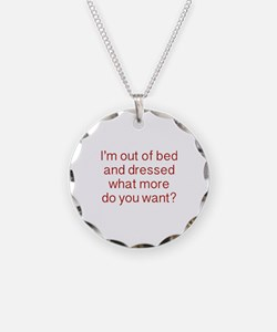 What more do you want ? Necklace