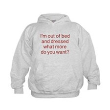 What more do you want ? Hoodie