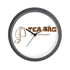 Tea Bag Wall Clock