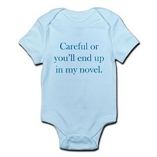 Careful or you'll end up in my novel Infant Bodysu