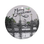 Jackson Square Christmas Ornament (Round)