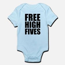 FREE HIGH FIVES Infant Bodysuit