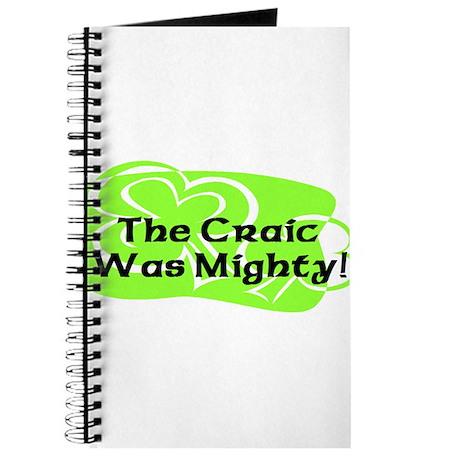 Mighty Craic Journal