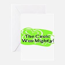 Mighty Craic Greeting Cards (Pk of 10)