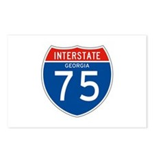 Interstate 75 - GA Postcards (Package of 8)