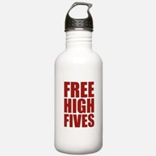 FREE HIGH FIVES Water Bottle