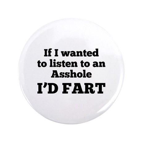 "I'd Fart 3.5"" Button (100 pack)"